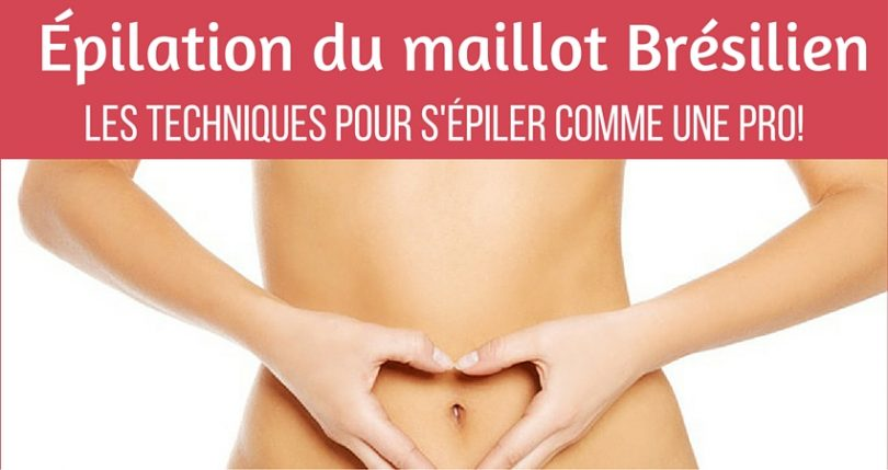 epilation maillot technique